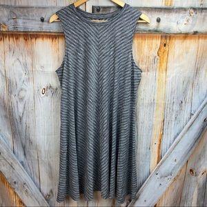 NWOT SONOMA Sleeveless Swingy Cottony Dress